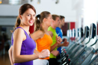 exercise and fitness woman
